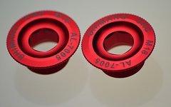 Kurbel -schraube Crank bolt für M18 für FSA ML140 Gossamer/V-Drive/Comet rot