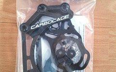 Carbocage Kettenführung 4x Carbon ISCG 5