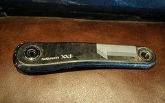 SRAM XX1 Kurbelarm GXP 170mm blau links non drive side