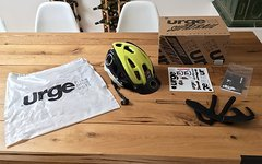 Urge Supatrail Helm (lime/black) S/M 54-55cm