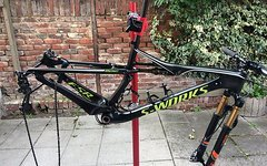Specialized S-Works Epic WC 2017 Frame Gr. M inkl. Fox Factory SC