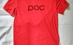 POC Trail Tee T Shirt M rot neu