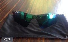 Oakley Radarlock Jade Iridium Glas