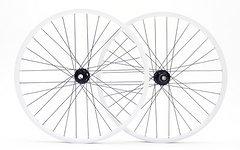 Alutech MX36 Laufradsatz 32L, weiße Felgen