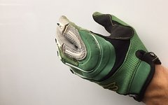 Fox Racing Strafer Blitz Handschuhe grün L MX DH MTB FR