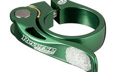 Reverse Components Sattelschelle LONG LIFE Ø 34.9 Dark Green Seatclamp with brass washer- LONG LIFE clamp 46g