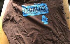 Dimb Hoodie Legalize Freeride Downhill braun in M Top Hoody