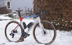 ZHANGNUO M/änner Frauen Radsocken MTB Fahrradsocken Atmungsaktive Rennradsocken Outdoor Sports Racing Socken Orange