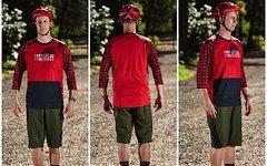 Troy Lee Designs Jersey RUCKUS Red Black M, Enduro *NEU*