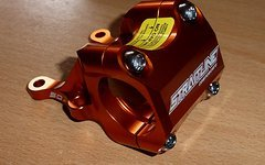 Straitline Direct Mount 31,8mm 50mm orange für Boxxer Dorado Fox 40