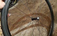 Speedcomposites Super Leichte Turbular Carbon Laufräder mit Reifen