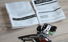Shimano Umwerfer XT FD-M781 Dual Pull / Down Swing