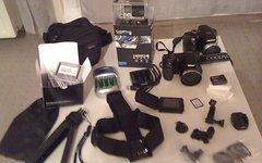 Gopro Hero 4Black - Nikon Collpix L820 / Fujifilm Finepix + viel Zubehör