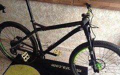 NS Bikes Eccenttric Rahmen / Gabel Set 2016