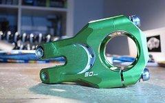 Straitline SSC Vorbau Split Steerer Clamp, 50mm, 31.8mm, grün,
