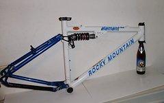 """Rockymountain Kanada KULT-Fully-Rahmen Element """"Race"""" 1998 in 18"""""""