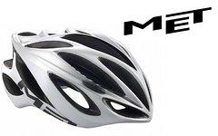 Met Helm INFERNO UL in 54-58cm (M) weiss-silber