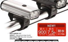 Lezyne POWER DRIVE 900 XL - Helmlampe in Box - LED USB LOADED - UVP 119€ - NEU