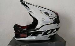 Fox RAMPAGE Pro Carbon Downhill Helm - Gr. S (55 - 56 cm Kopfumfang) - wie Neu!