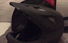 Fox Rampage Pro Carbon Helmet Men matte black (Kopfumfang 59-60 cm)