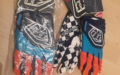 Troy Lee Designs GP Glove Navy/Orange Gr. M NEU