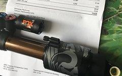 Fox Float x2 Dämpfer 241mm Tausche