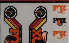 Fox Decal Kit Heritage 2015 orange Dekor Dämpfer + Gabel
