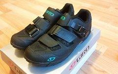 Giro Terradura Shoes Women black/dynasty green 2016