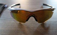 Oakley M2 Brille Fire Iridium Silber