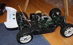 Ansmann RTR Nitro Buggy 1:8 + Tuning Teile