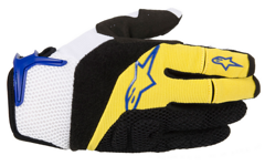 Alpinestars MOAB Gloves Yellow Electric Blue S