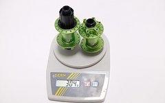 Carbon Ti 1 Satz Carbon-Ti X-Hub MTB SL Naben 32° ca. 304gr acid green