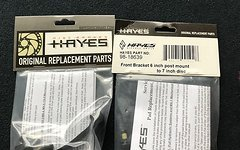 Hayes Bremssattel Adapter vorne 180mm PM Gabel