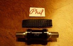 Phil Wood Edelstahl vierkant JIS 116mm 68/72
