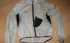 Vaude Men`s Unique Jacket II Fahrradjacke Windjacke/Regenjacke, weiß/klar, Gr.M
