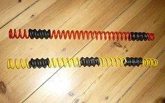 Rock Shox Boxxer Feder Rot (Medium) Neu für alle 35mm Gabeln
