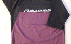 Platzangst Classic Jersey Short Schwarz/Lila Größe: M