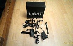 Lupine Helmlampe Neo X2 700 Lumen inkl.Stangenhalter 31,8 & Adapter USB One!