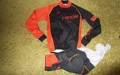 Radon - Star Bike Radon Wintertrikot/Bibshort-Sommer Gr. S