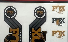 Fox Decal Kit Heritage 2016 Gold 40-36-34-32