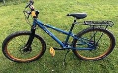 Kaniabikes einzigartiges Kania Bike für Kinder Einzelstück selfemade NP ca. 1500€ unter 10Kg