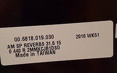 SRAM Reverb Stealth 150   31.6x440mm   Modell 2017