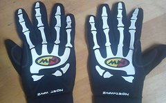Northwave Winter-Handschuhe Skeleton XL Neopren / Softshell