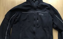 Gore Bike Wear Windstopper Radjacke mit robusten Softshell Gr.M