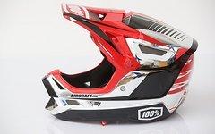 100% AIRCRAFT Helm Chrome Größe M