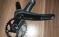 Sram Xx1 BB30 Kurbel 175mm mit Eagle Kettenblatt 32 6mm Offset