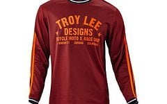 Troy Lee Designs Super Retro Jersey Maroon S, M, XL *NEU*