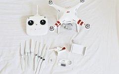 DJI Phanton 3 Standard Drohne Quadrocopter für Luftaufnahmen