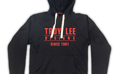 Troy Lee Designs Gr.L STANDARD FLEECE PULLOVER BLACK