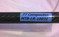 77 Composites Mtb-Lr-10031 Carbon Lenker 77Composite 78cm/148g Made in Germany